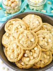 White chocolate macadamia nut cookies recipe