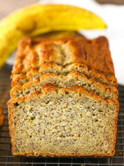 The BEST Banana Bread Recipe | Easy & Moist Banana Bread!