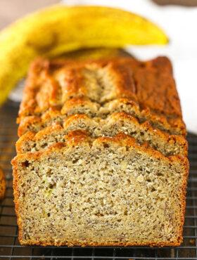 The BEST Banana Bread Recipe | Easy & Moist Banana Bread!