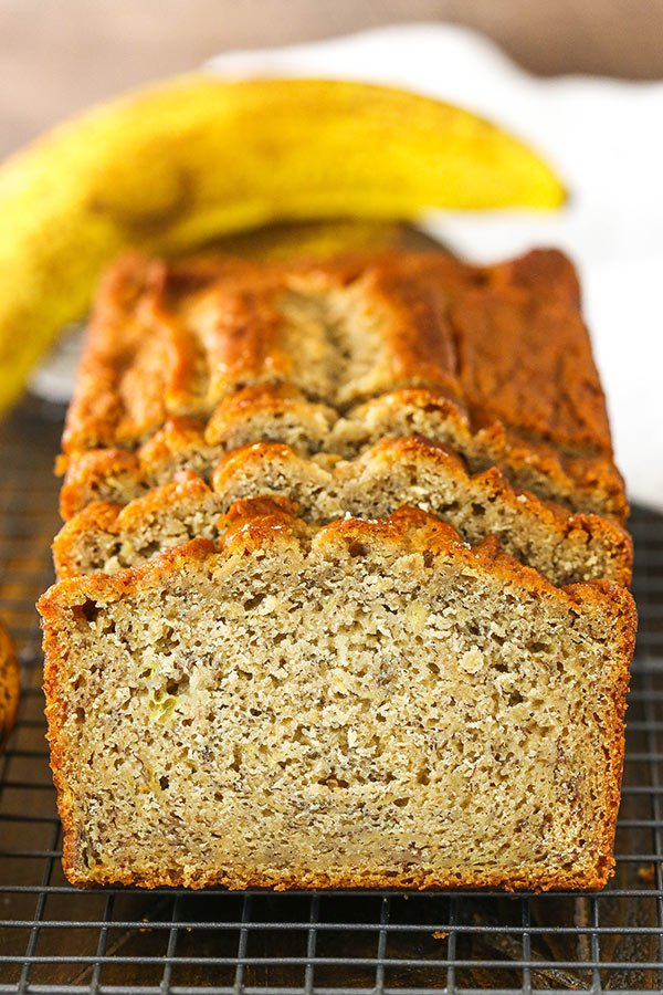 Moist And Easy Banana Bread Recipe Life Love And Sugar