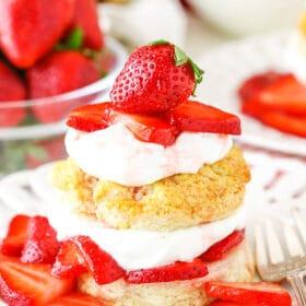 image of Easy Strawberry Shortcake recipe