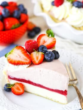 Image of Berry Almond Cream Pie