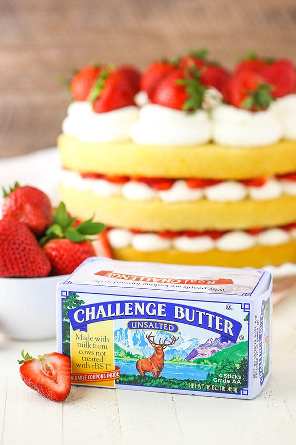 challenge butter image