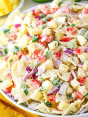Pineapple Salsa Pasta Salad recipe