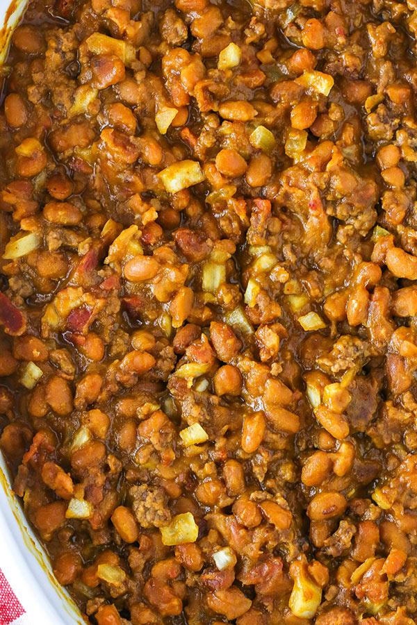 photo of amazing baked beans