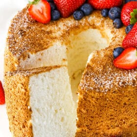 Image of the Best Angel Food Cake
