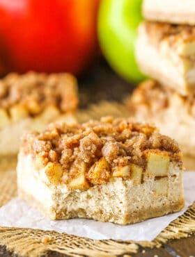 Image of Apple Cheesecake Streusel Bars