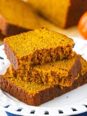 Slice of Best Pumpkin Bread