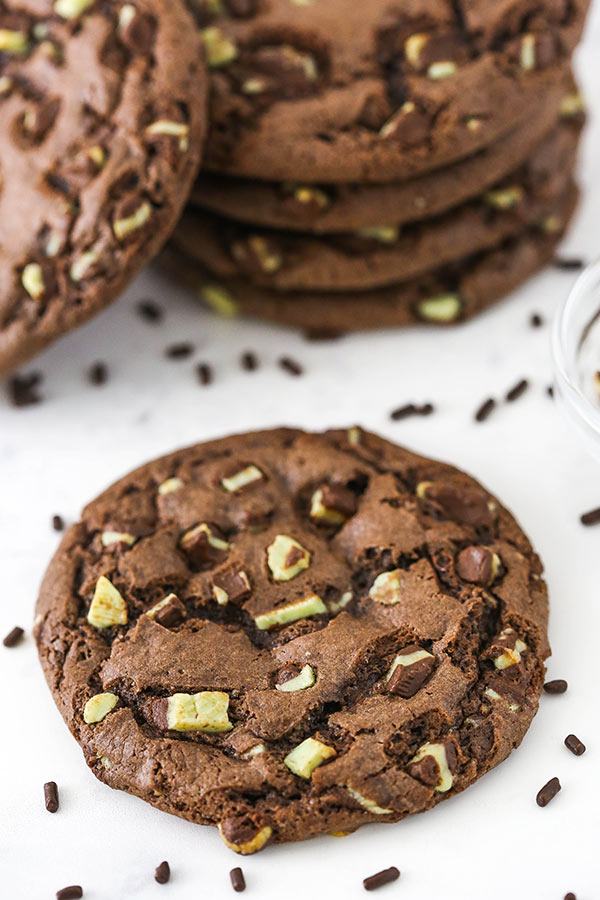 Chocolate Chocolate Chunk Chip Cookies