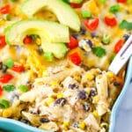 Easy Mexican Chicken Casserole