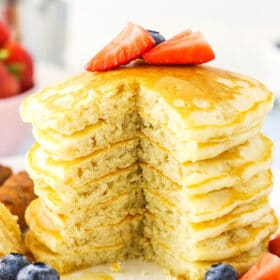 Best Homemade Pancakes Recipe | Old Fashioned Fluffy Pancakes