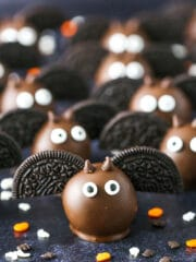 Bat Oreo Cookie Balls | Fun & Easy Halloween Party Food Idea