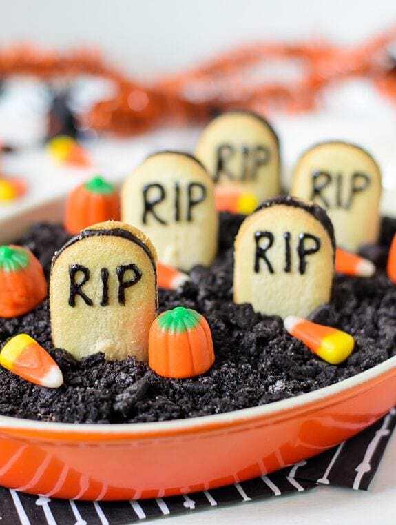 cheesecake graveyard dip