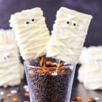 Mummy Rice Krispie Treats | Fun & Easy Halloween Food Idea!