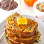 Pumpkin Bread French Toast | The Ultimate Fall Breakfast Idea