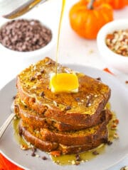 Pumpkin Bread French Toast | The Ultimate Fall Breakfast Idea