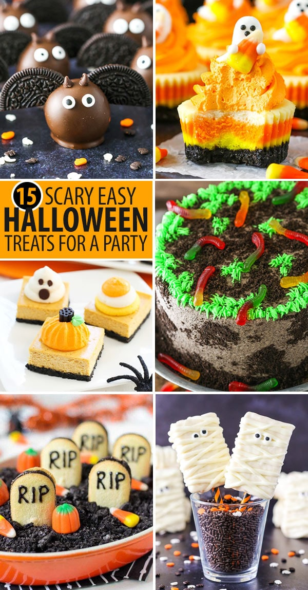 15 scary easy halloween treats