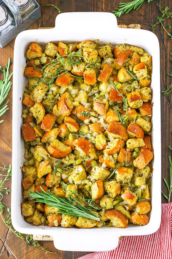 Full image of Classic Homemade Stuffing Recipe