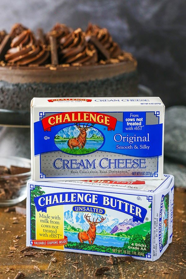 image of butter and cream cheese