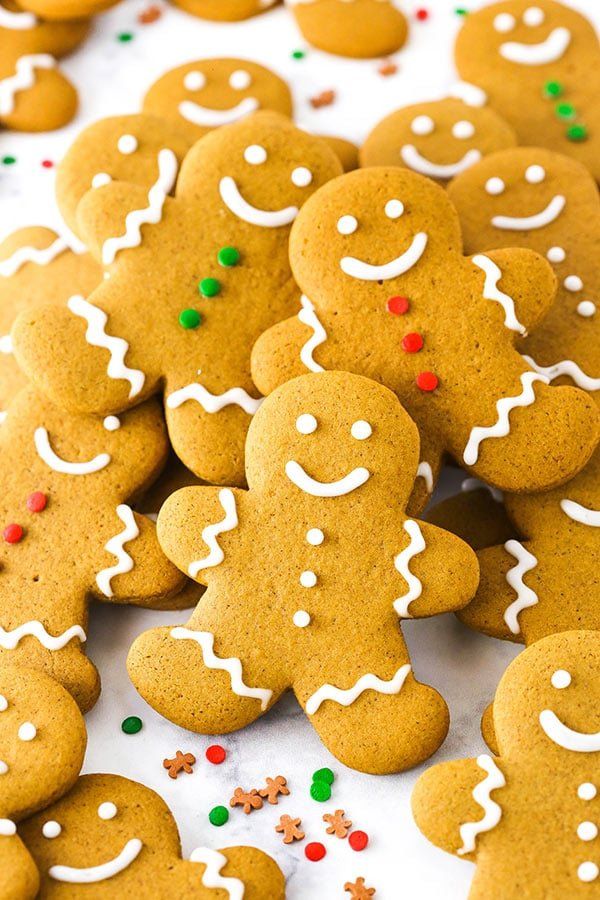 Best Gingerbread Cookies Recipe Soft Chewy Christmas Cookies