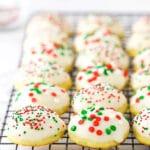 recipe for easy Italian ricotta cookies
