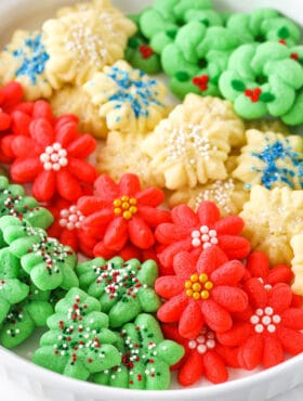 clasic spritz cookies recipe
