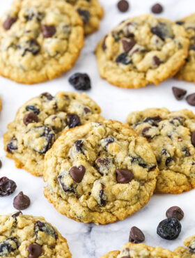 recipe for cherry chocolate chip oatmeal cookies