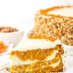 Cheesecake Swirl Carrot Cake