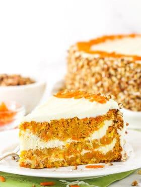 cheesecake swirl carrot cake recipe