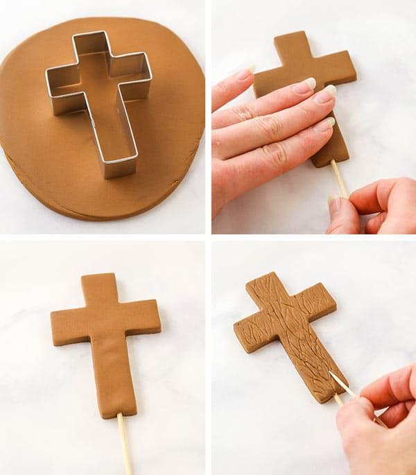 steps for making the cross