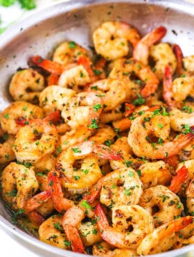 garlic butter shrimp scampi recipe