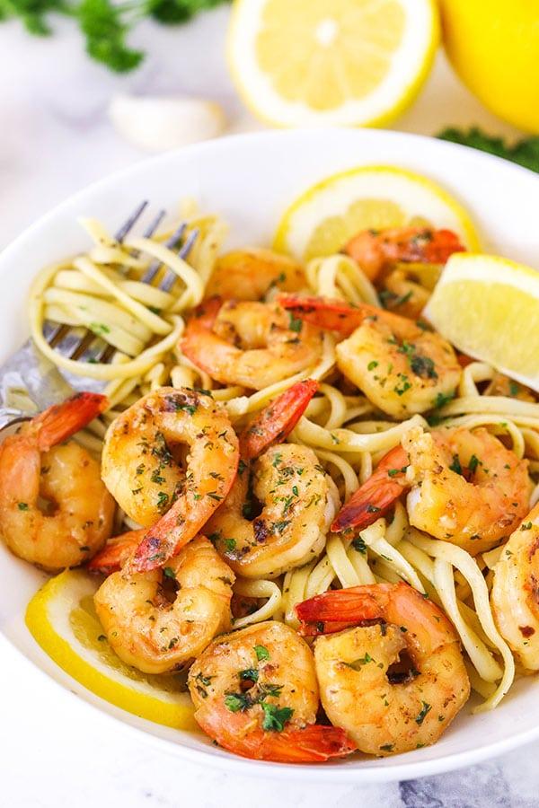 shrimp scampi with linguine recipe
