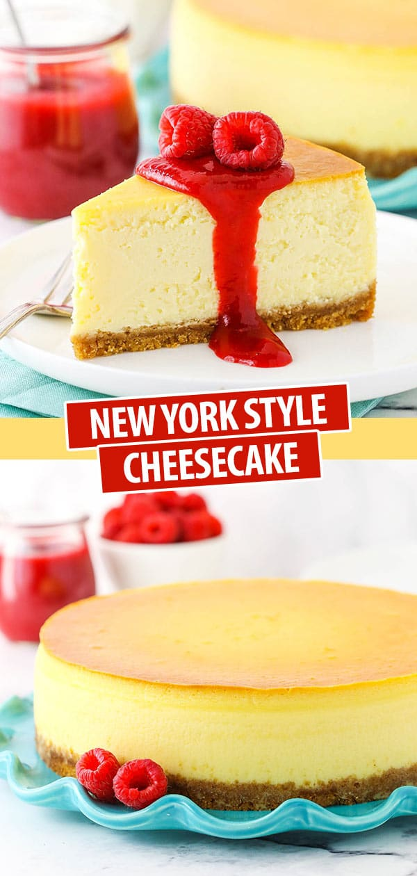 A Classic New York Style Cheesecake