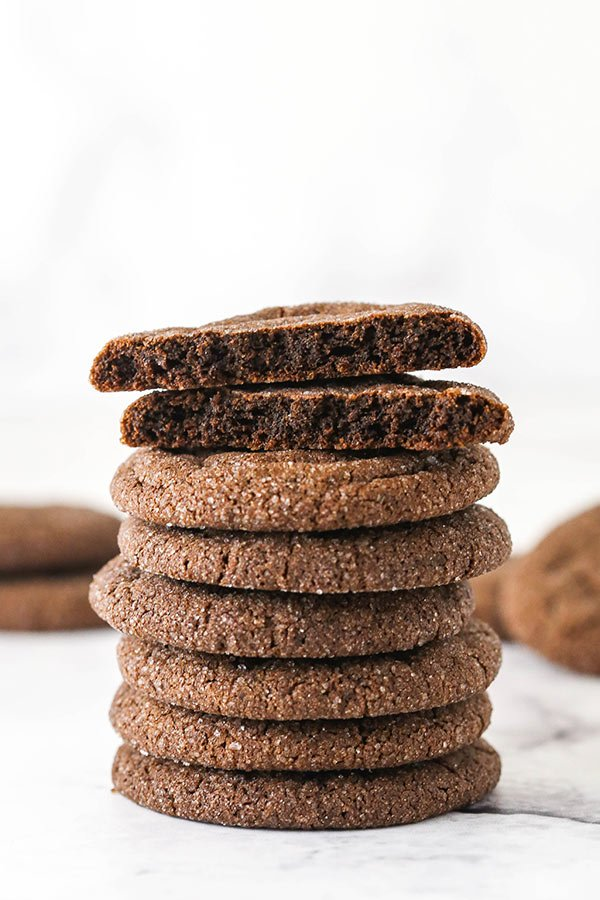 A Tall Stack of Cocoa Cookies