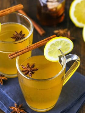 Two Glasses of Hot Toddy