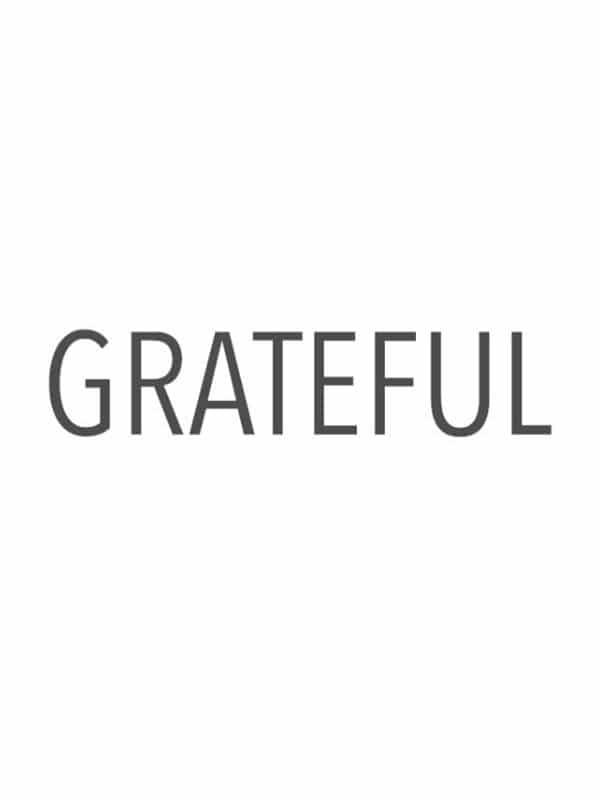 I am so grateful for where I am today.