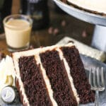 Guinness Chocolate Layer Cake