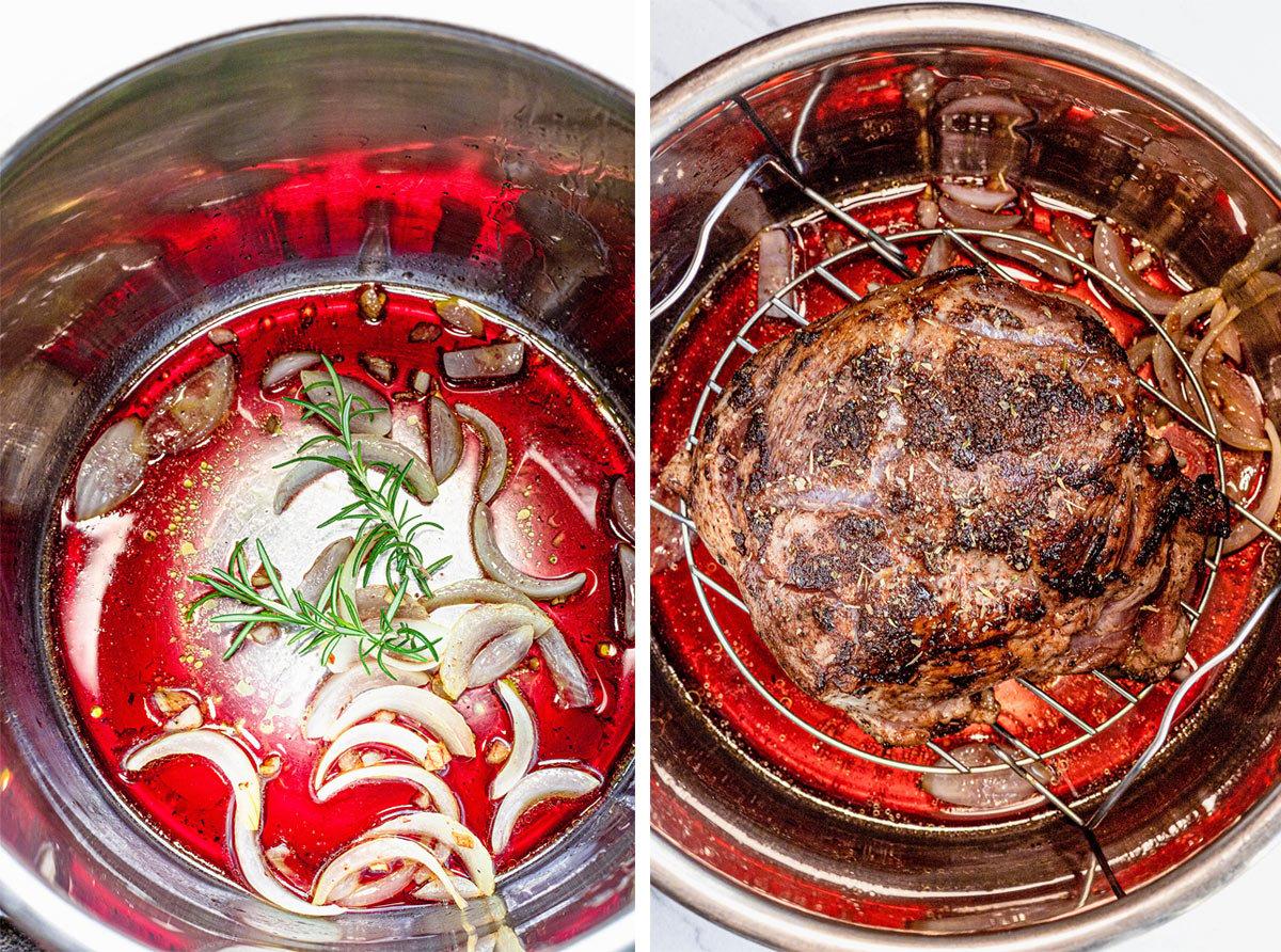 Pork shoulder in the instant pot